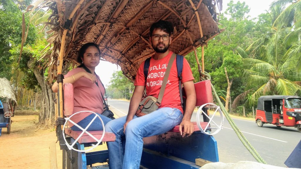 Sigiriya Village tour, oxen cart ride