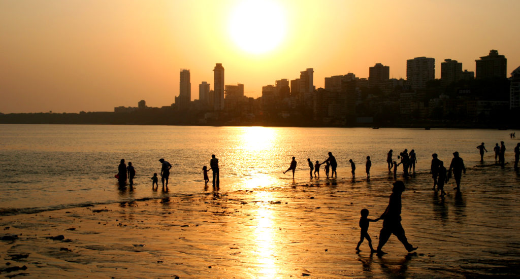 best places to visit in mumbai, girgaum chowpatty